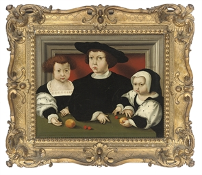 Group portrait of the children