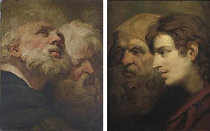 Saint Paul and Saint Peter; an