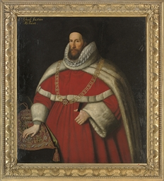 Portrait of Sir Henry Hobart,