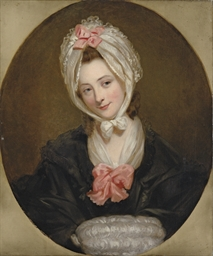 Portrait of a lady, possibly t