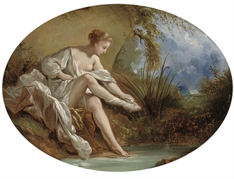 Diana bathing