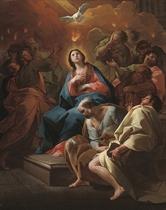 The Pentecost: a bozzetto