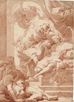 Ulysses before Circe, Mercury behind