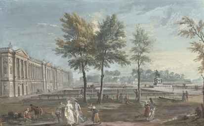 View of the Place Louis XV, la