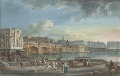 View of the Pont Neuf from the