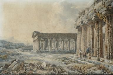 The Temple of Apollo, Paestum
