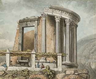 The temple of the Sibyl at Tiv