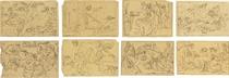 Twelve illustrations for the works of Homer