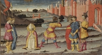 The Martyrdom of Saint Januarius: panel from a predella