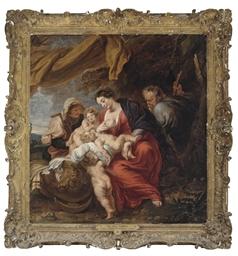 The Holy Family with Saint Eli