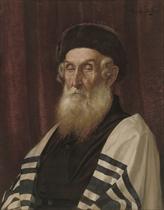 A Rabbi in contemplation
