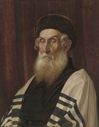 A Rabbi in contemplation