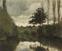 Paysage à la rivière