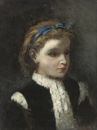 Portrait of Marie, the artist'