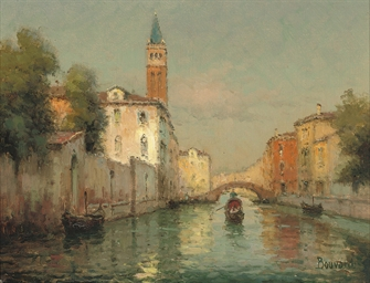 A Venetian backwater before th