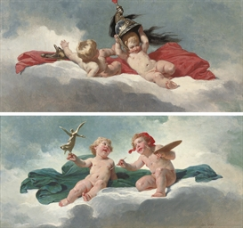 An allegory of the Arts; and A