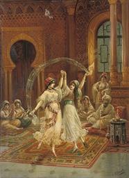 The harem dancers