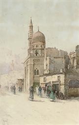 A bustling street, Cairo