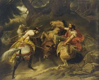 Charlemagne et Hildegarde