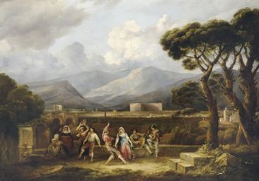 La Salterella : danseurs napol