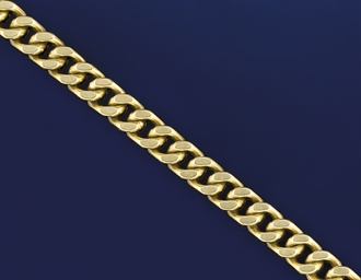An 18ct. gold bracelet