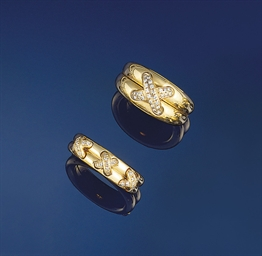 Two diamond rings, by Chaumet