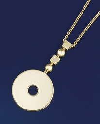 A pendant necklace, by Bulgari