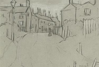 Street Scene Near Pendlebury