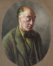 Portrait of Desmond McCarthy