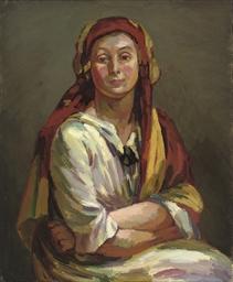 Portrait of Helen Anrep