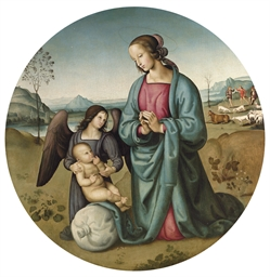 The Madonna and Child with an