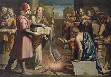 Saint Paul and the burning of