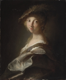 Portrait of a lady, said to be