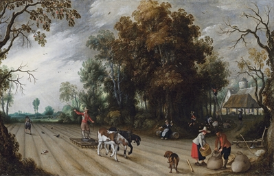 An Allegory of Autumn: A farme