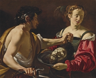 Salome receiving the Head of S