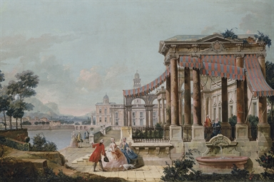 A capriccio of a neoclassical