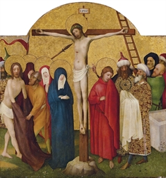 The Crucifixion: A panel from