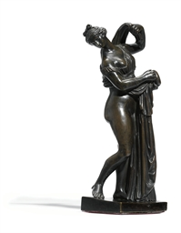 A BRONZE FIGURE OF THE CALLIPY