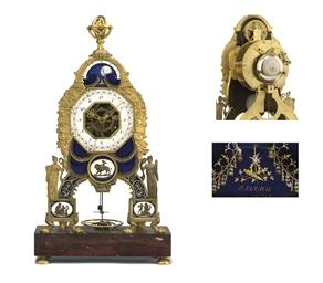 A LATE LOUIS XVI ORMOLU, ENAME
