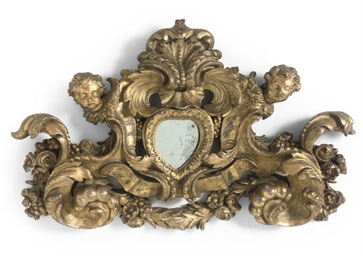 A CONTINENTAL GILTWOOD OVERDOO