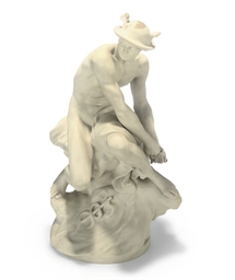 AN ENGLISH PARIAN FIGURE OF ME