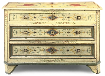A NORTH ITALIAN PARCEL-GILT CR