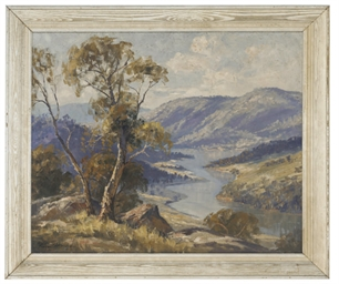 The Hume river lookout, Austra