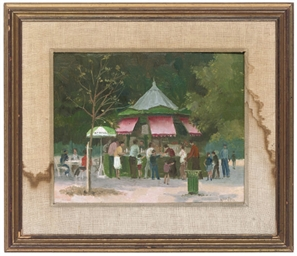 Café in the Tuileries, Paris