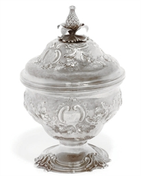 AN EARLY GEORGE III SILVER MIX