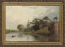 Stratford-on-Avon Church from the riverside