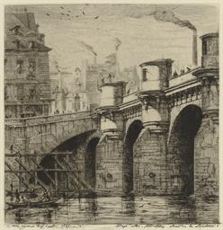 Le Pont Neuf, Paris (Delteil-W