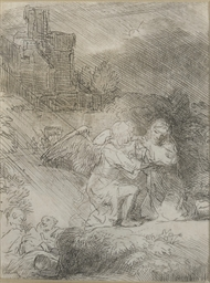 The Agony in the Garden (Barts