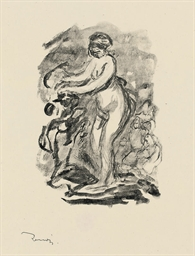 Femme au cep de vigne: four pl