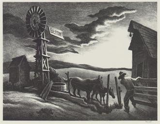 Nebraska Evening (F. 45)